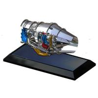 China Customized Souvenirs Part Diecast Aircraft Engine Model on sale