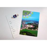 China 3D pp scenery greeting card wholesale