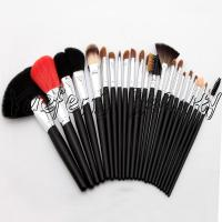 23pcs Long Handle Sable Hair Makeup Brush Set