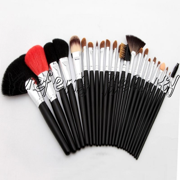 Quality 23pcs Long Handle Sable Hair Makeup Brush Set for sale