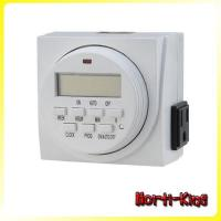 China 7 -Day Digital Programmable Timer 24Hrs German Mechanical Timer wholesale