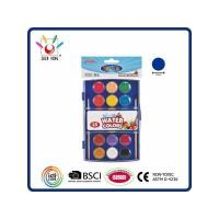China WATER COLOR 18 Watercolor In Polybag With Hanging Card wholesale