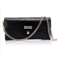 China Black leather bags and purses wholesale