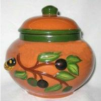 China Colorful pottery urn wholesale