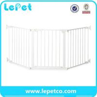 China Pet Door for dogs pet safety door baby safety gate lockable safe flap wholesale supplier wholesale