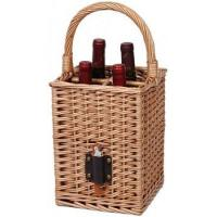 China MY3A-1209 Willow Wine Bottle Basket on sale