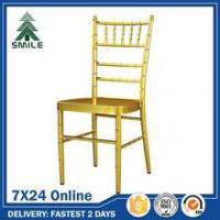 China Party Chairs Metal Ballroom Chairs For Sale wholesale