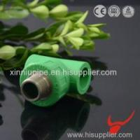 China PPR Pipe Fittings Male Tee Factory wholesale