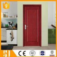 China Great pattern carved solid wooden study door design wholesale
