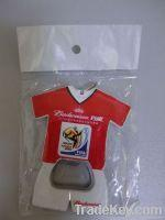 China Football Clothes Bottle Opener wholesale