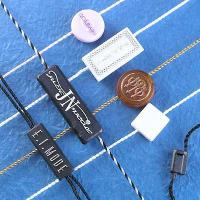 China Plastic Patch w/String wholesale