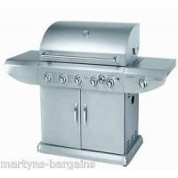 China 5 BURNER GAS BBQ WITH SIDE BURNER + ROTISSERIE BARBEQUE 489.99 wholesale