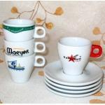 China Porcelain Cup and Saucer With Logo, Espresso Set (CNS05212) wholesale