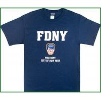 China FDNY Shirts Official NY Fire Dept Logo T-Shirt on sale