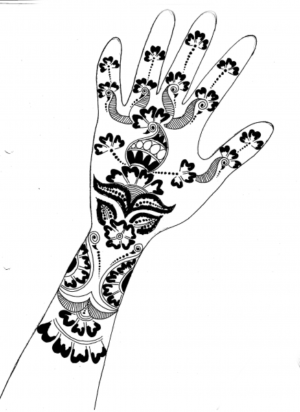 the gallery for gt arabic mehndi designs drawings