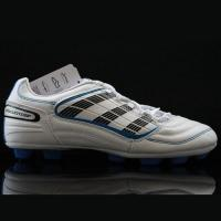 Quality Best Adidas Soccer Shoes Predators Soccer X AG White Brown Yellow Cleats for sale