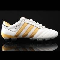 Quality Football Boot Brand Adidas adiPURE III TRX FG Black Gold Soccer Cleats for sale
