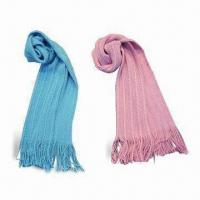 >Knitted scarves