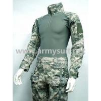 China MILITARY CLOTHING Combat Shirt&Pants Digital ACU Camo Elbow Knee Pad on sale