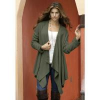 China Denim 24/7 Plus Size Hankie Cardigan wholesale
