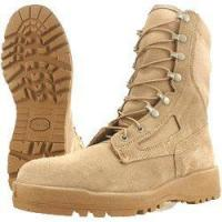 China Wellco T161 Tan Hot Weather Steel Toe Combat Boot on sale