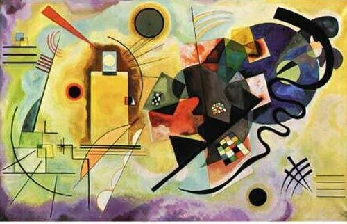 """Quality Kandinsky, Wassily """"yellow-red-blue 1925"""" for sale"""