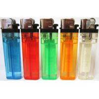 Cigarette Lighter - Disposable Butane Transparent