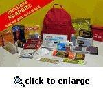 China front Code-Red Survival Pak's on sale