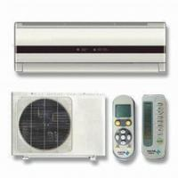 China Split Air Conditioner with Low Noise, Auto Swing Enlarges Winding Area wholesale