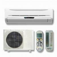 China Split Air Conditioner with Auto Swing Enlarges Winding Area, Low Noise wholesale