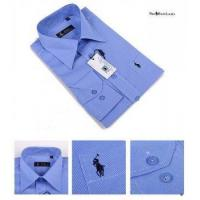 China Classic-Fit Pinpoint Oxford CornflowerBlue on sale