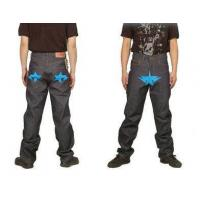 China Bape A Bathing Ape Blue star Grey Mens Jeans wholesale