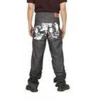 Buy cheap Bape A Bathing Ape Grey White Mens Jeans from wholesalers