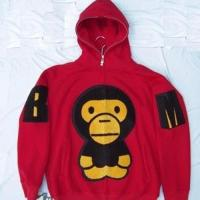 China Bape Baby Milo Hoodies - Red wholesale