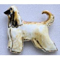 China Afghan Hound Ceramic Dog Pins wholesale