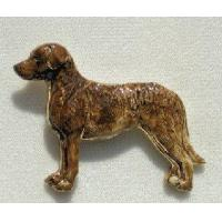 China Chesapeake Bay Retriever Ceramic Dog Pins wholesale