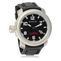 China Invicta Sea Hunter Collection Swiss Made Stainless Steel Case Black Rubber Strap 100M Men's Watch! on sale
