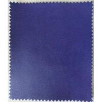 Synthetic Leather Fabric Genuine Leather Handfeeling with Elastic Velveteen Backing