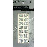 Buy cheap 62*160mm Safety Nontoxic Multicolor Cute Artistic French Tip Nail Stickers from wholesalers