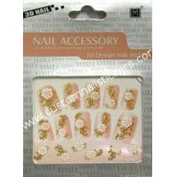 Buy cheap ODM Yellow And Black French Nail Art Stickers With EN - 71 certificate For Skin, Ceramic from wholesalers