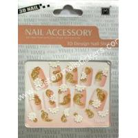 Buy cheap Cool No Smelly Manicure French Nail Art Stickers With Nontoxic Glue, Glass from wholesalers