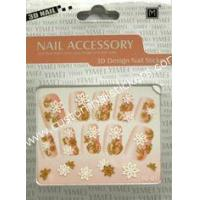 Buy cheap Eco - friendly Customized Pretty French Nail Art Stickers With EN - 71 Certificate from wholesalers