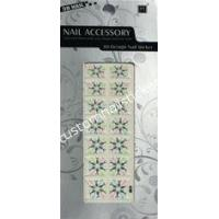 Buy cheap OEM Geometrical Pattern Simple French Nail Stickers With Eco - friendly Ink, Glue from wholesalers