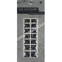 Buy cheap Nontoxic No Smelly Artificial Pretty Black And White Art French Nail Stickers from wholesalers