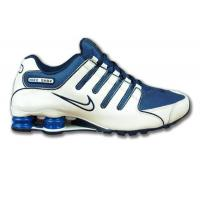 China Nike Shox NZ EU Weiss/Blau on sale