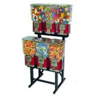 China Pro Line 6-Unit Candy/Gumball Machine with Rack wholesale