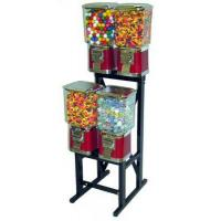 China Pro Line 4-Unit Candy/Gumball machine with Rack wholesale