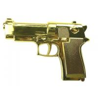 China Heavy Metal Big Gun Buckle (Gold or Black) on sale