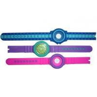 China OEM silicone jelly rubber watch strap / watch wristband / watch band / watch bracelet wholesale
