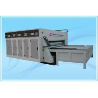 China Three Colors Printing Die-cutting Slotting Machine on sale